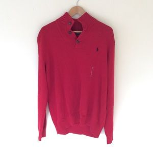Mens Ralph Lauren Polo Martin Red Sweatshirt XL